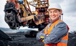 Coalmining pracownik Fotografia Stock
