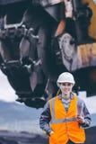 Coalmining pracownik Obrazy Stock