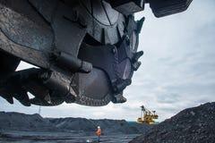 Coalmining przemysł Zdjęcie Royalty Free
