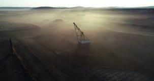 Coalmining przy otwart? jam? zdjęcie wideo