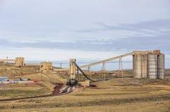 Coalmining roślina Zdjęcie Stock