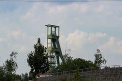 Coalmining wierza obrazy stock