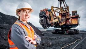 Coalminingarbetare arkivfoton