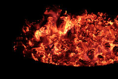 Coals in the big brazier. Stock Images