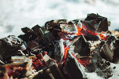 Coals. Royalty Free Stock Photography