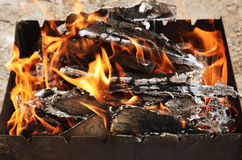 Coals for cooking Royalty Free Stock Images