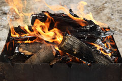 Coals for cooking Royalty Free Stock Photo