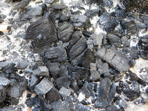 Coals from Fire Royalty Free Stock Images