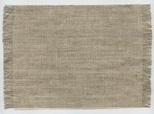 Coarse cloth stock image