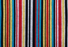 Coarse cotton fabric Stock Images