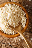 Coarse crumbs Panko breading ingredient in a bowl, close-up. Ver Stock Photo