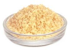 Coarse crystals of brown sugar Stock Image
