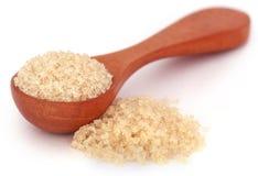 Coarse crystals of brown sugar Stock Photo