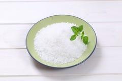 Coarse grained salt Stock Photos