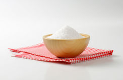 Coarse grained salt Stock Image