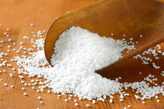 Coarse grained salt Royalty Free Stock Photo