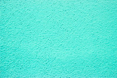 Coarse-grained wall paint - cyan Royalty Free Stock Photography