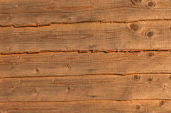Coarse Grained Wooden Background Royalty Free Stock Photo