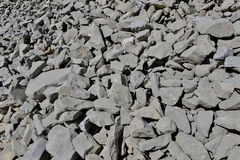 Coarse Gravel. This photo shows a big area full of coarse gravel Royalty Free Stock Photos