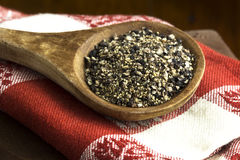 Coarse Ground Pepper Stock Photo