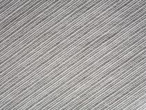 Coarse ribbed gray cotton fabr Stock Photography