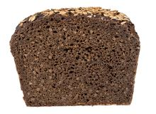 Coarse rye bread Stock Images