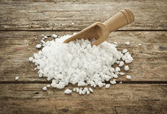 Coarse salt Stock Photos