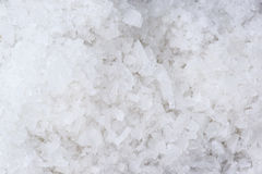 Coarse salt  texture background Royalty Free Stock Images