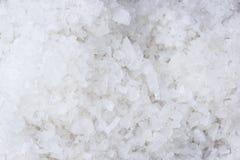 Coarse salt texture background. Macro closeup coarse salt texture background royalty free stock images