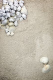 Coarse sand stationary background Royalty Free Stock Images
