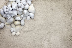 Coarse sand stationary background Royalty Free Stock Photos