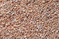 Coarse sand surface Royalty Free Stock Photography