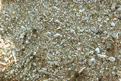 Coarse Sand Texture Stock Photography