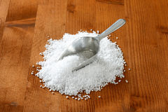 Coarse sea salt Royalty Free Stock Photos