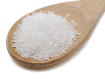 Coarse Sea Salt Stock Photo