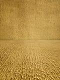 Coarse Textured Stucco Room Stock Photo