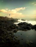 Coast. Early morning on Atlantic coast Stock Photography