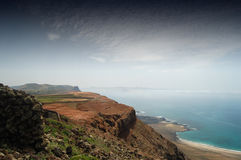 Coast. Part of the spectacular coast of Northern Lanzarote Royalty Free Stock Image