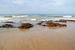 Coast. Atlantic coast in the algarve Royalty Free Stock Images