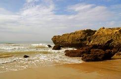 Coast. Atlantic coast in the algarve Stock Photo