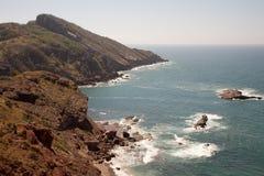 Coast. Rocky coast of Mexico in Mazatlan Royalty Free Stock Images