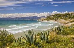 Coast. Beach in Salou. Costa Dorada. Spain Stock Photo