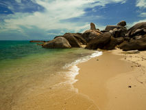 Coast. Hin Ta - Hin Yai at kho Samui, Thailand Stock Photos
