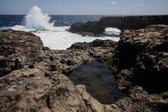 Coast. In El Hierro,Canary Islands Stock Image
