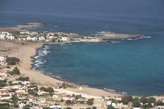Coast. Of crete Stock Images