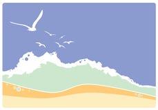 Coast stock image