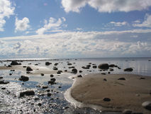 Coast. Of gulf of Finland Stock Images