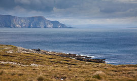 Coast of Achill Island Stock Image