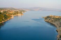 Coast of the Adriatic Sea Stock Photography