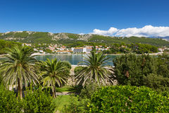 Coast at Adriatic Sea, Rab Island, Croatia Royalty Free Stock Images